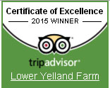 Trip Advisor - Orchard Lodges